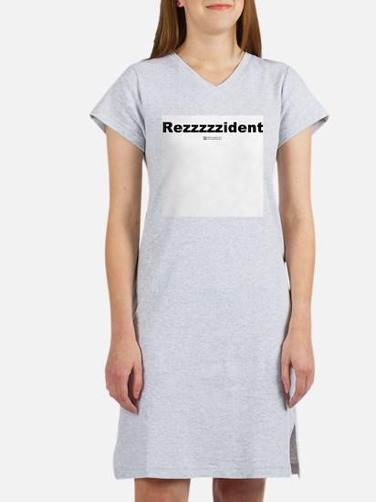 Rezzzzzident - Women's Pink Nightshirt