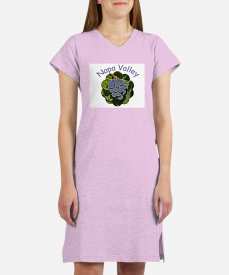 Napa Grapes - Women's Nightshirt
