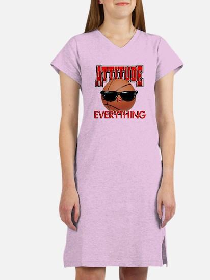 Attitude is Everything Women's Nightshirt