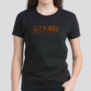 Let's Roll BJJ Women's Women's Dark T-Shirt