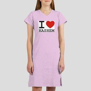 I Heart Hashem Women's Nightshirt