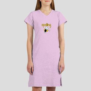 Spelling Bee II Women's Nightshirt