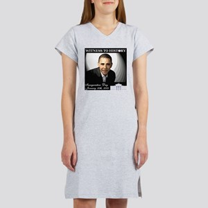 Obama Over WhiteHouse Women's Nightshirt