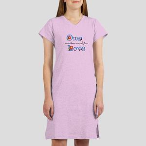 Oma Love Women's Nightshirt