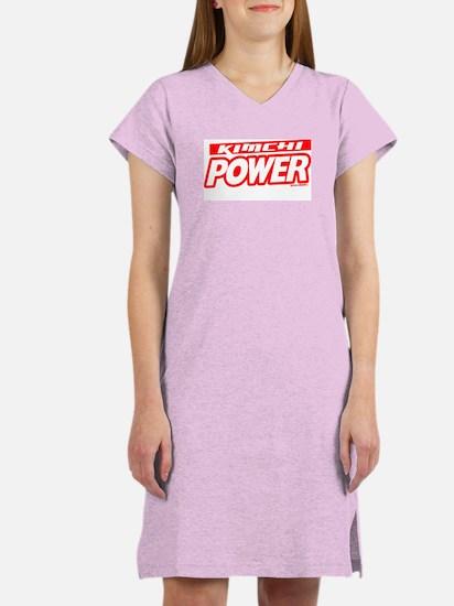 Kimchi Power Women's Nightshirt
