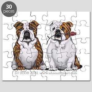 Bulldog Romance Puzzle