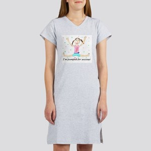 Pumped for Success Women's Pink Nightshirt
