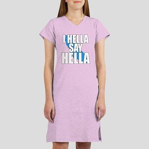 Hella Women's 3 Colors Nightshirt