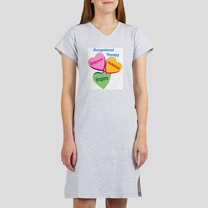 OT Multi Heart Women's Nightshirt
