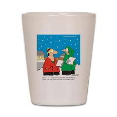 Christmas Carol Shot Glass