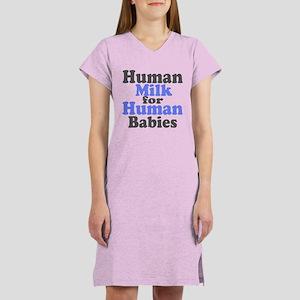 Human Milk.... Women's Nightshirt