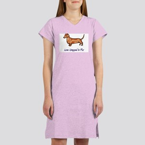 Dachsund - Love Wrapped In Fur Women's Light Night