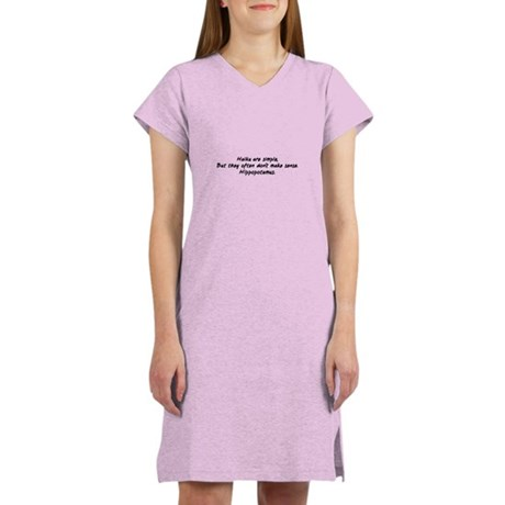 Haiku are Simple, But They Of Women's Nightshirt