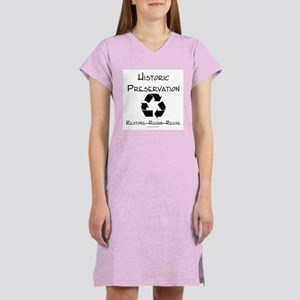 Preservation is Recycling Women's Nightshirt