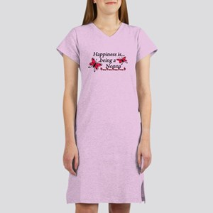 Butterfly Being A Nonna Women's Nightshirt