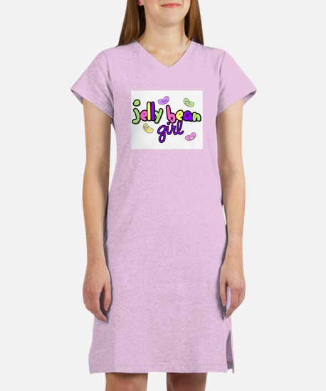Jelly Bean Girl Women's Pink Nightshirt