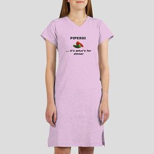 Macedonian Piperki Women's Nightshirt