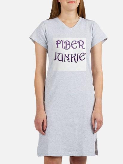 Fiber Junkie Women's Pink Nightshirt
