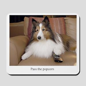 Pass the Popcorn Mousepad