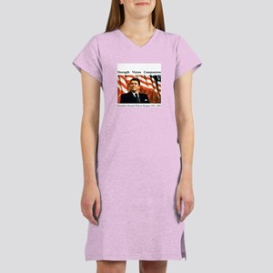 Ronald Reagan Memorial Women's Nightshirt