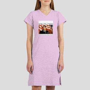 Ronald Reagan Memorial Women's Nightshirt
