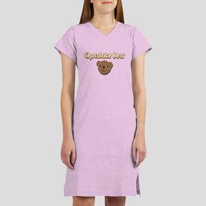 Chocolate Bear Women's Nightshirt