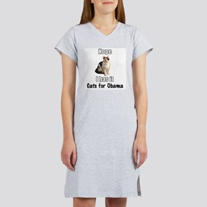 Cats for Obama Women's Nightshirt