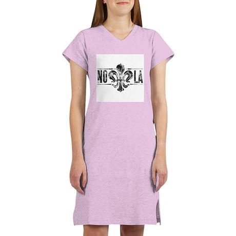 Fleur-de-lis Too Women's Nightshirt