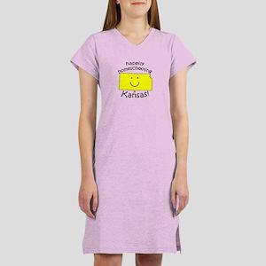 Happy in KS Women's Nightshirt