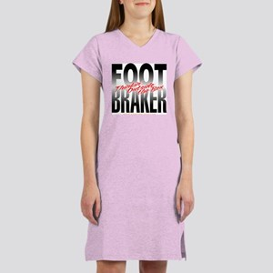 Footbraker: Thinkin' Outside Women's Nightshirt