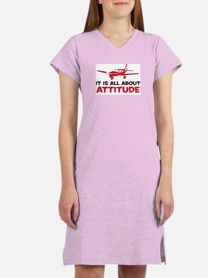 Attitude A Women's Nightshirt