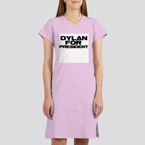Dylan For President Women's Nightshirt