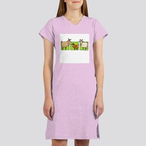 3 goats Women's Nightshirt