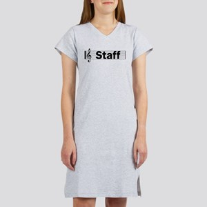 Music Staff Women's Nightshirt