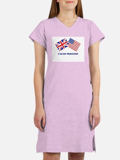 A UK/USA Production Women's Nightshirt