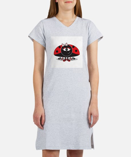 Little Ladybug Women's Pink Nightshirt