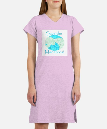 Save the Manatees Women's Nightshirt
