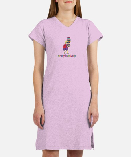 Crazy Book Lady Women's Nightshirt
