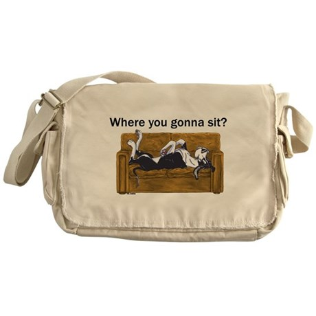 NMtl Where U Gonna Sit? Messenger Bag