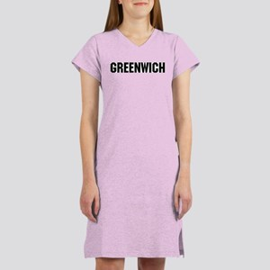 Greenwich, Connecticut Women's Nightshirt
