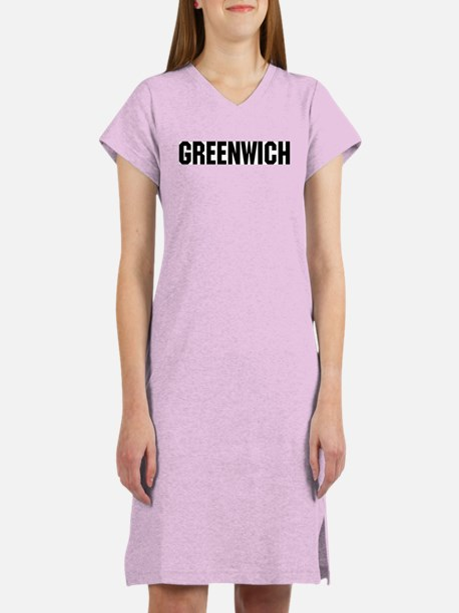 Greenwich, Connecticut Women's Nightshirt