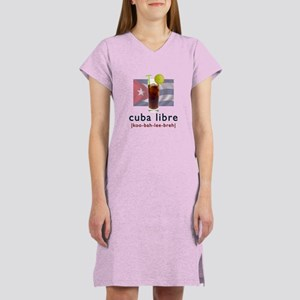 Cuba Libre Women's Nightshirt