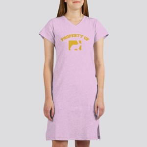 Property of my rabbit Women's Nightshirt