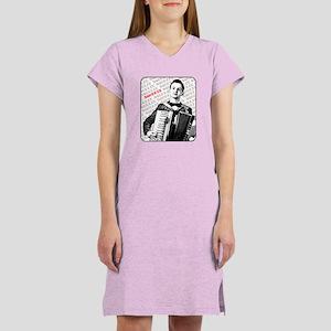 Squeeze Accordion Women's Nightshirt
