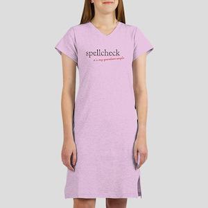 Spellcheck Women's Nightshirt