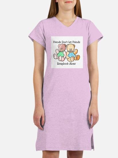 Scrapbook Friends Women's Nightshirt