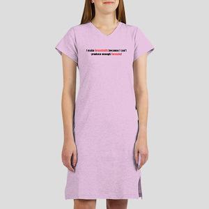 I make breastmilk Women's Nightshirt