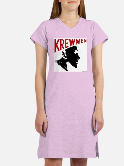 Krewhead 2 Women's Nightshirt with Backprint