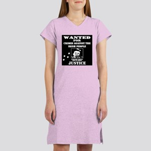 WANTED POSTER Thatcher Women's Nightshirt