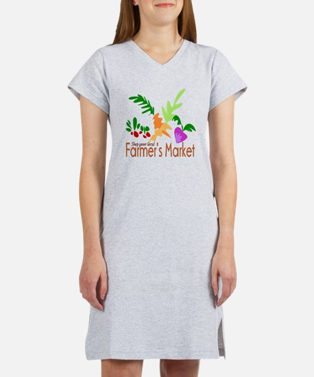 Farmer's Market Women's Nightshirt